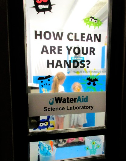 Water Aid science laboratory - Kidzania
