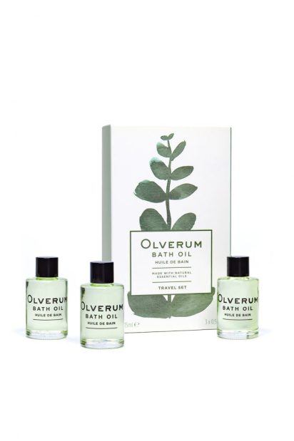Travel set- Olverum Bath Oils