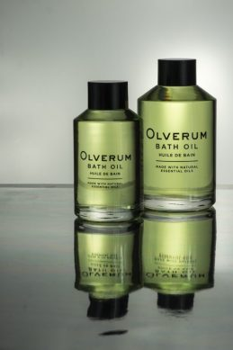 Relaxing With Olverum Bath Oils