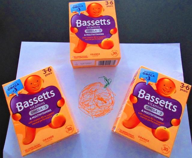 Bassetts Vitamins Omega-3 %  Multivitamins