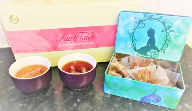 Fairy Tales Pyramid Teabags From Adagio Teas