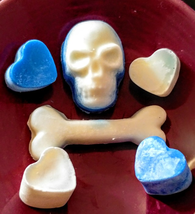 Skull, Bone & Hearts Wax Melts