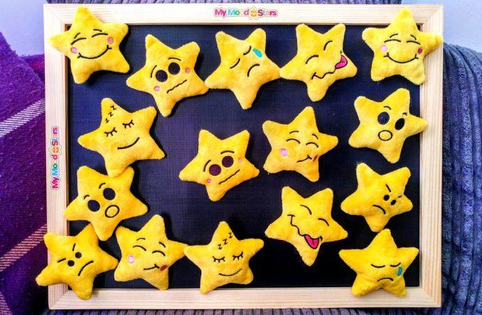 My Mood Stars Velcro Board and Stars