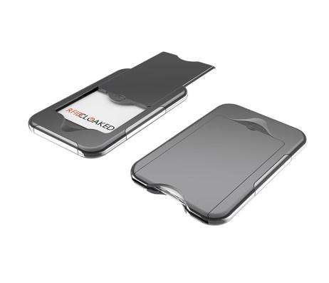 Steel Grey RFIDSecur Wallet