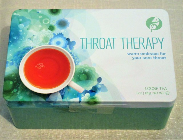Throat Thrapy from Adagio teas