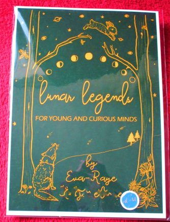 Lunar legends personalised book cover
