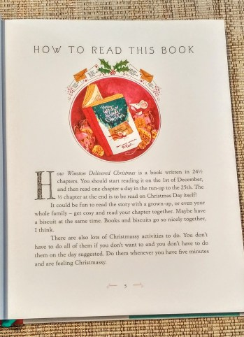 How to read How Winston Delivered Christmas