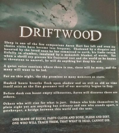 Driftwood back cover