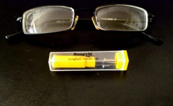Repairing Glasses with Snap It