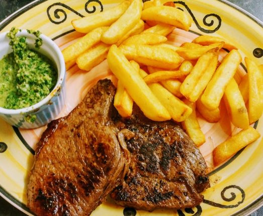 Chimichurri Beef Steak