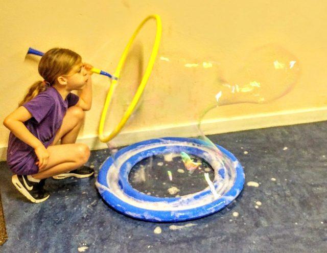 Blowing big bubbles