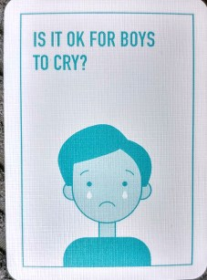 Equality - Is it ok for boys to cry?