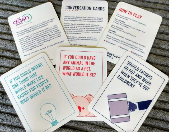 Together Equal - Conversation cards for kids