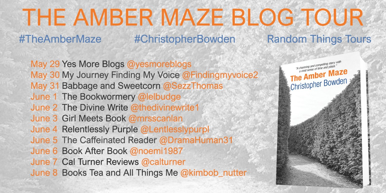 The Amber Maze By Christopher Bowden – Blog Tour