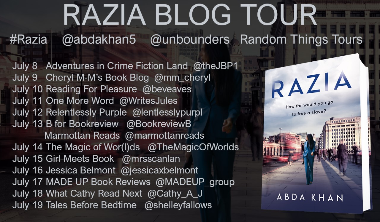 Razia By Abda Khan – Blog Tour