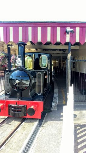 Train at Wicksteed Park