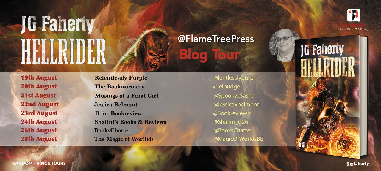 Hellrider By JG Faherty – Blog Tour