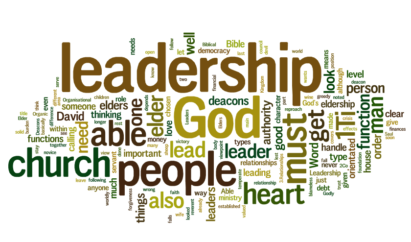 Bible Part About Being Leader