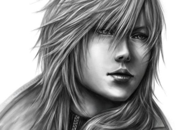 Amazing drawing of Lightning, this time looking a bit more traditional