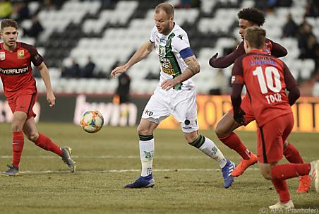 Admira besiegte Innsbruck 3:0, Remis zwischen WAC und Altach