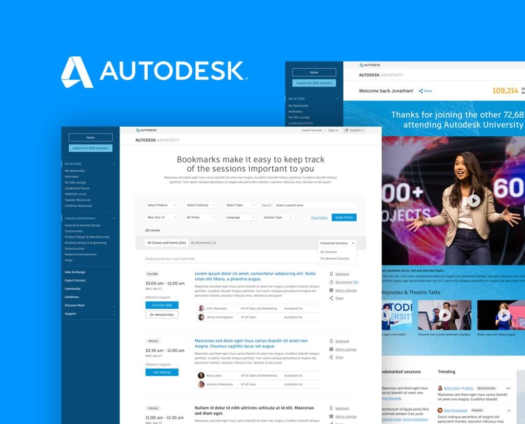 Autodesk University Virtual Event 2020