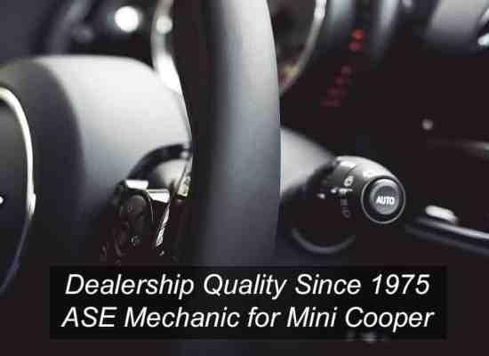 Mini Cooper Mechanic Los Angeles