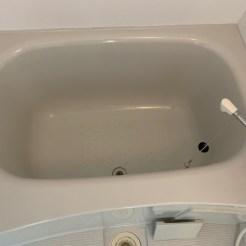 浴槽 清掃後