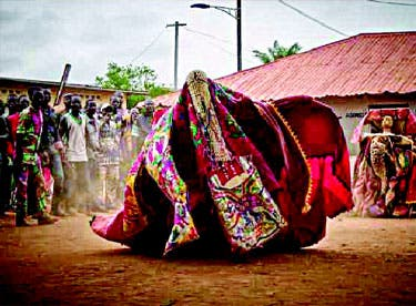 BIZARRE: How youths attacked masquerade in Oyo