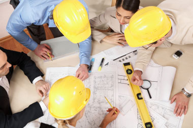 THE ROLES AND PROCEDURES OF PROFESSIONALS IN THE BUILDING INDUSTRY