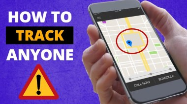 track anyone by sending a message