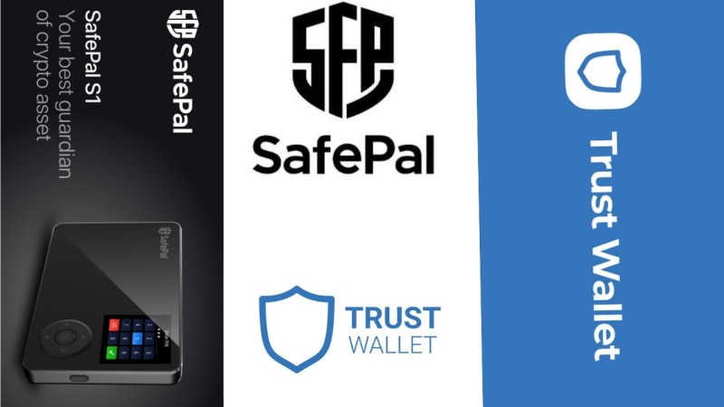 Secure your trust wallet and safepal wallet