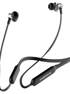 Ambrane ANB-83 Collar Neckband Earphone with Magnetic Earbuds