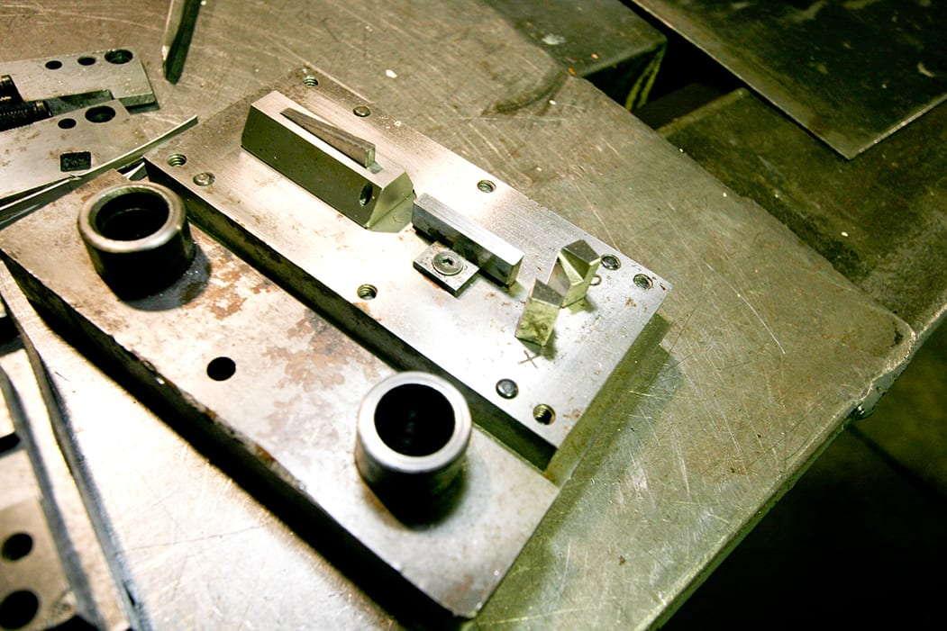 Metal stampings from Reliable Metalcraft.