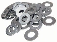 Custom metal stamping washers.