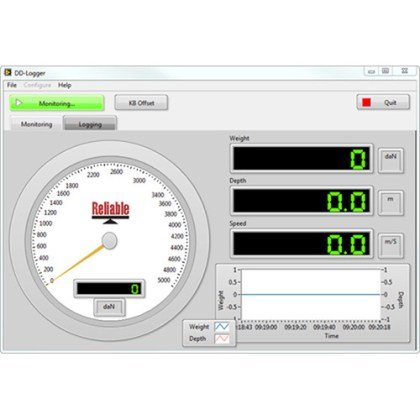 DD-Logger Monitor Screen