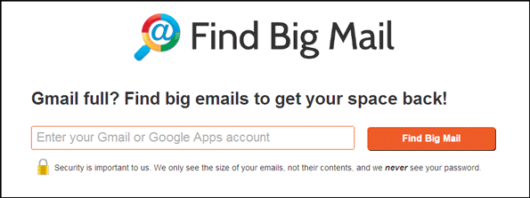 Find Big Mail in your Gmail account | Reliable Softwares