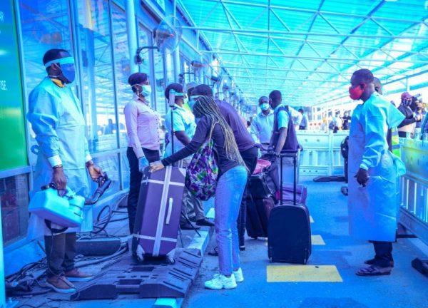 Nigerian travellers to Dubai