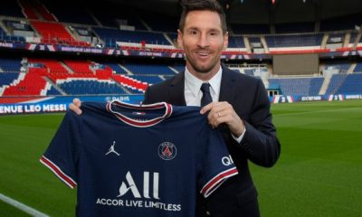 Everything about PSG matches my football ambition - Messi