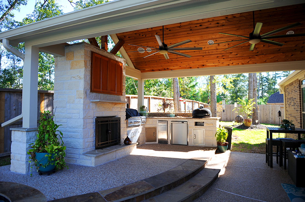 Photos | Reliant Construction on Outdoor Kitchen Patio id=79013