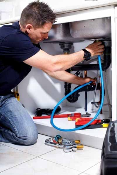 Denver Plumber replacing cold water line