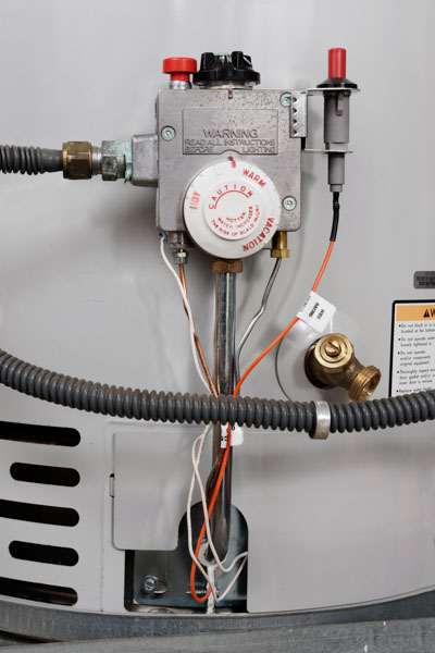 Old water heater replaced with new water heater in Boulder, CO.