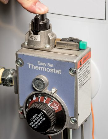 Denver, CO hot water heater thermostat repair by Relief Home Services.