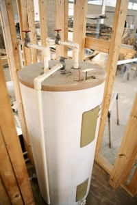 Mold repair near water heater replaced by Relief Home Services in Loveland, CO.