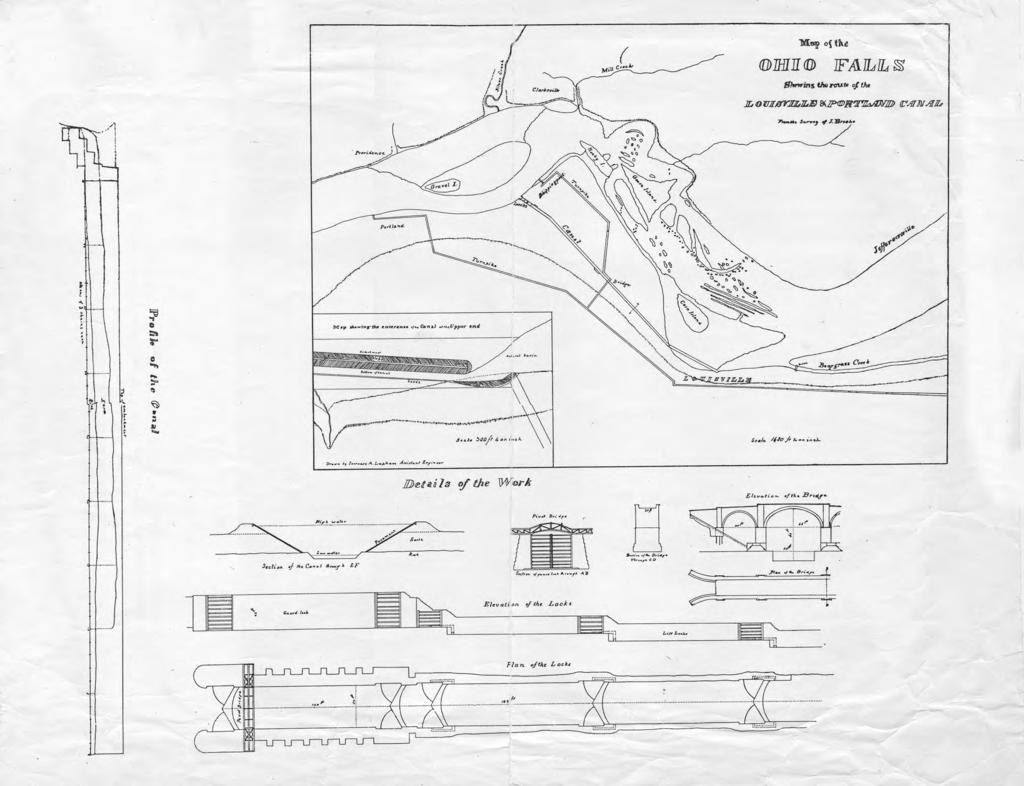 Triumph at the falls the louisville and portland canal these were the canal plans made