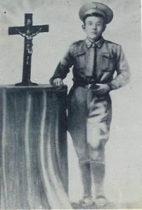 Juan Soldado. Illustrasjon: Aquiles Esquivel Madrazo - Wikimedia Commons.