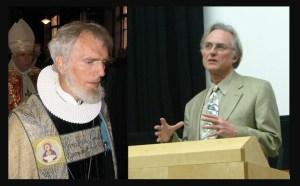 Børre Knudsen og Richard Dawkins - Wikimedia Commons.