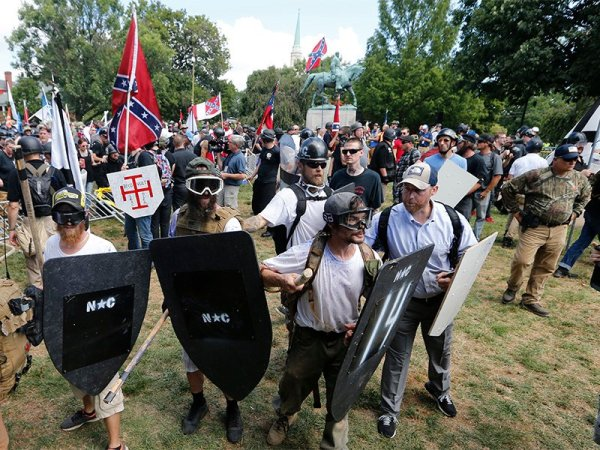 'Blood and Faith': A new book links white nationalists to ...