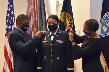 Army Makes History Promoting Black Female Chaplain Monica R. Lawson to Colonel