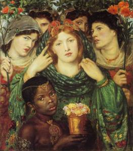 Dante Gabriel Rossetti The Beloved
