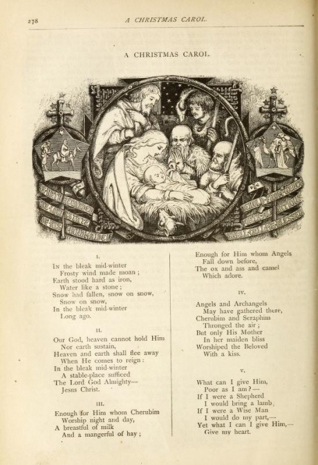 Was Jesus born in the bleak midwinter?